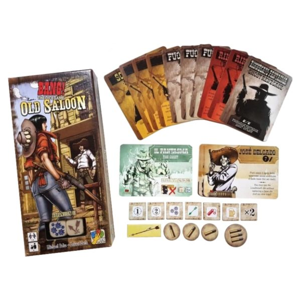 Bang ! Le jeu de dés : old saloon