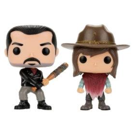 Funko POP - Walking Dead : Negan et Carl (Pack)