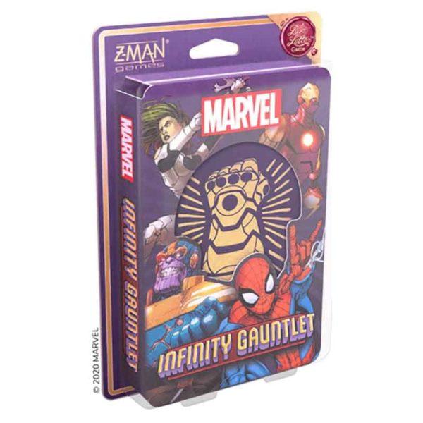 Marvel : le Gant d'Infinité - un jeu love letter