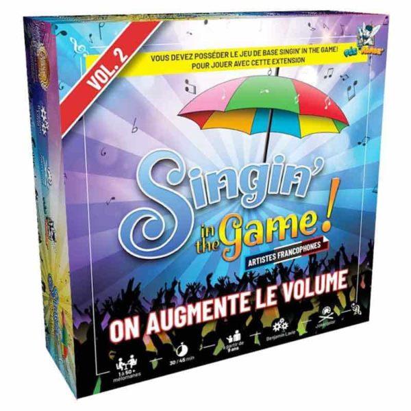 Singin'in the game vol.2 : on augmente le volume