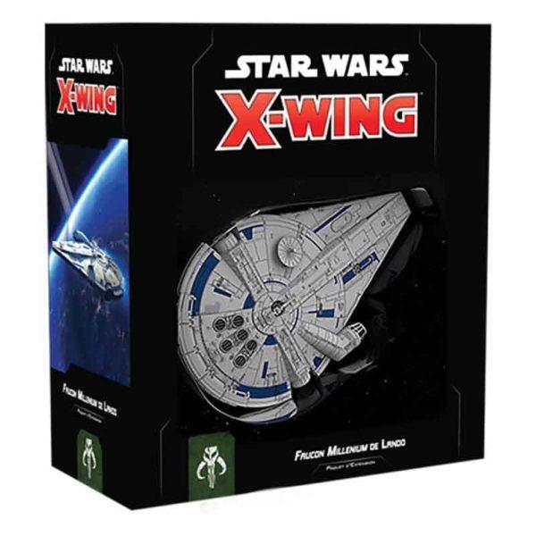 Star Wars X-wing 2.0 : Faucon Millenium de Lando (figurine)
