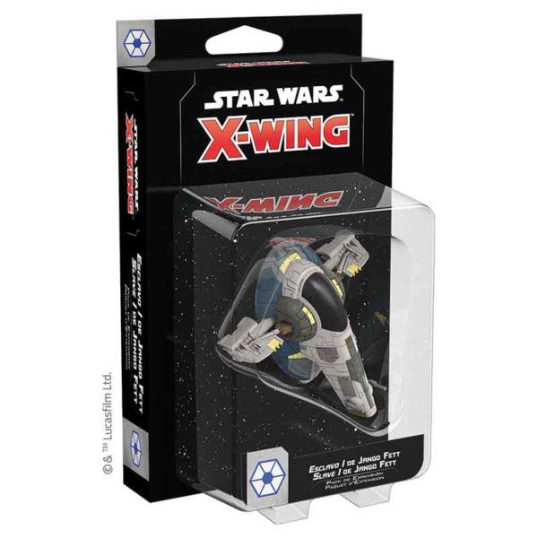Star Wars X-wing 2.0 : Slave I de Jango Fett (figurine)