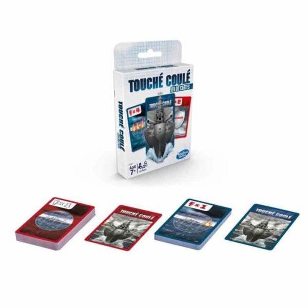 Touché-Coulé jeu de cartes