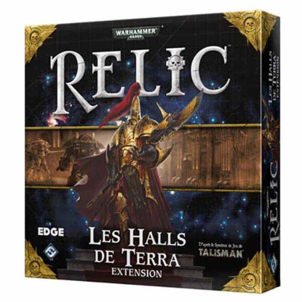 Relic : les halls de Terra (extension)